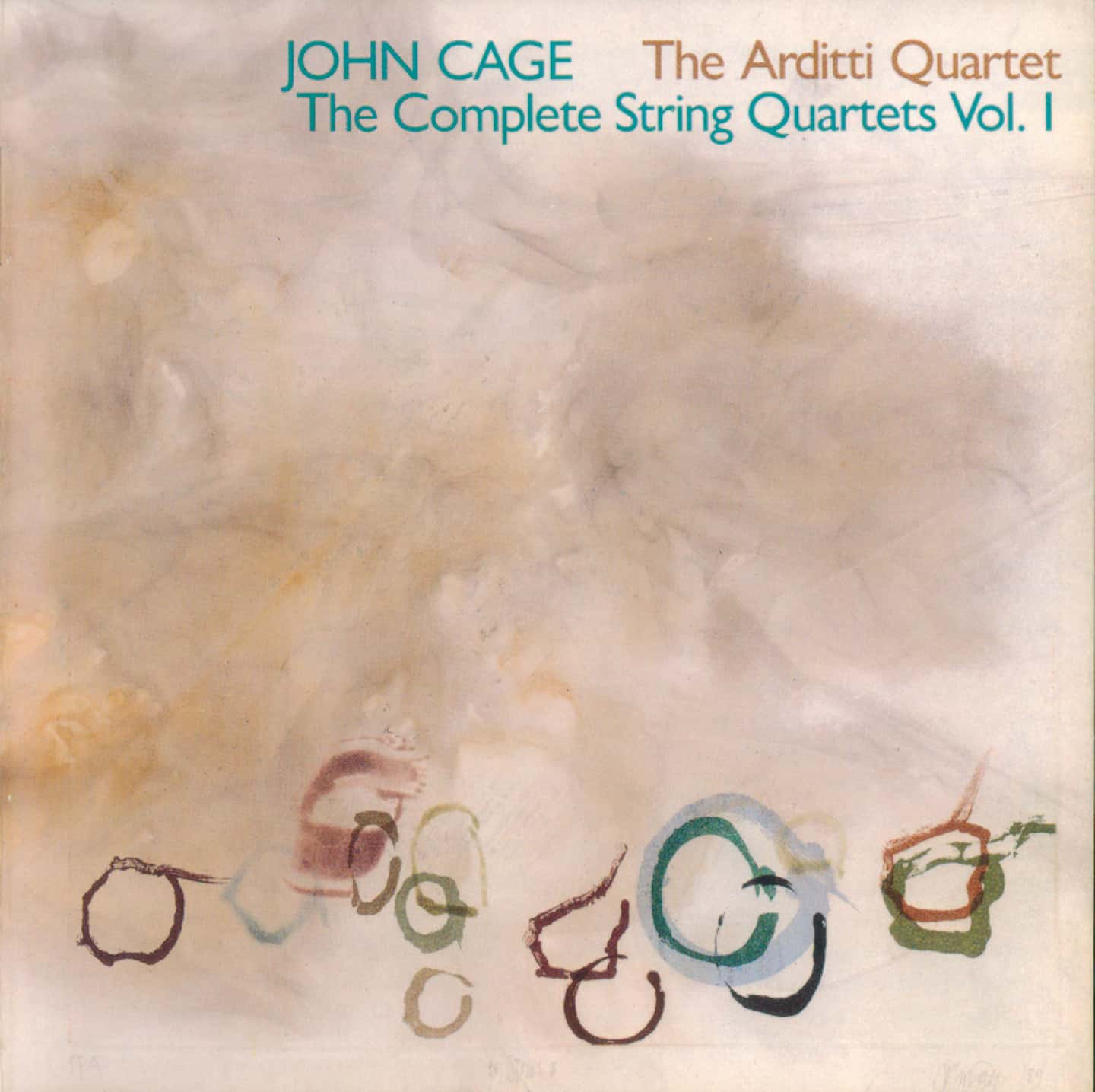 Cage Edition 3-The Complete String Quartets 1