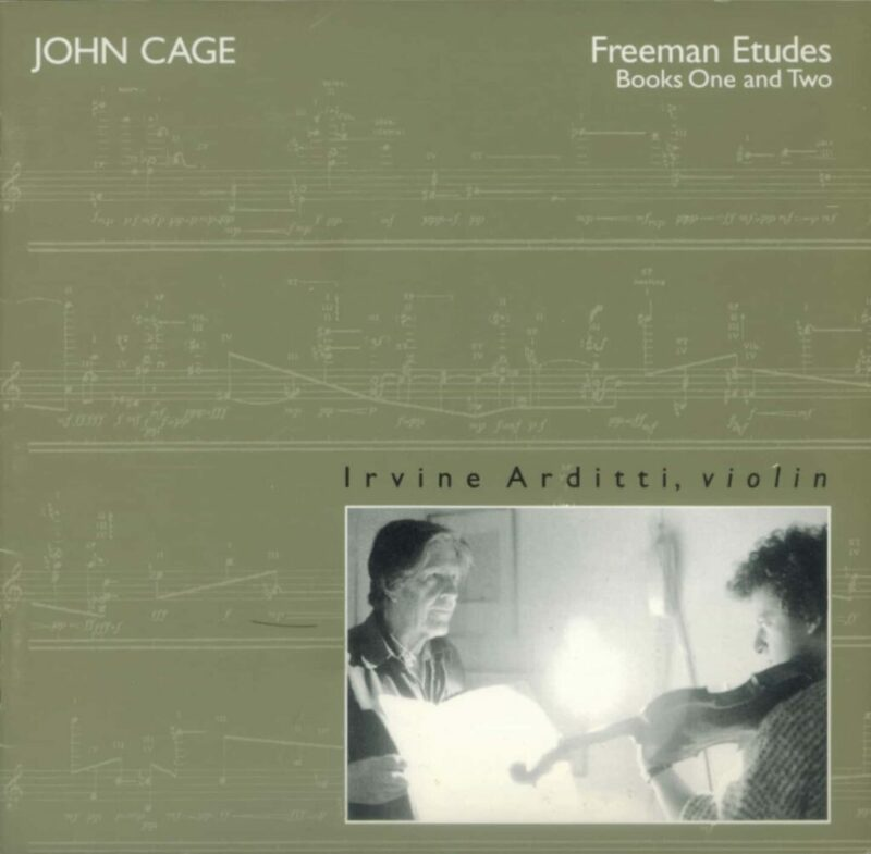 Cage Edition 7-Freeman Etudes, Books 1 & 2