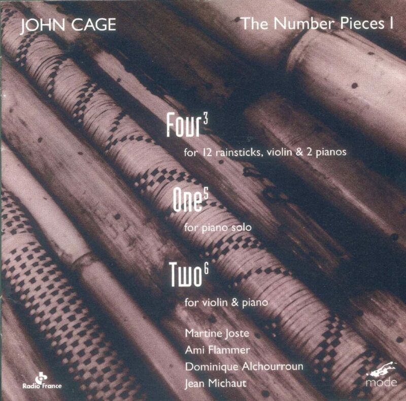 Cage Edition 12: The Number Pieces 1