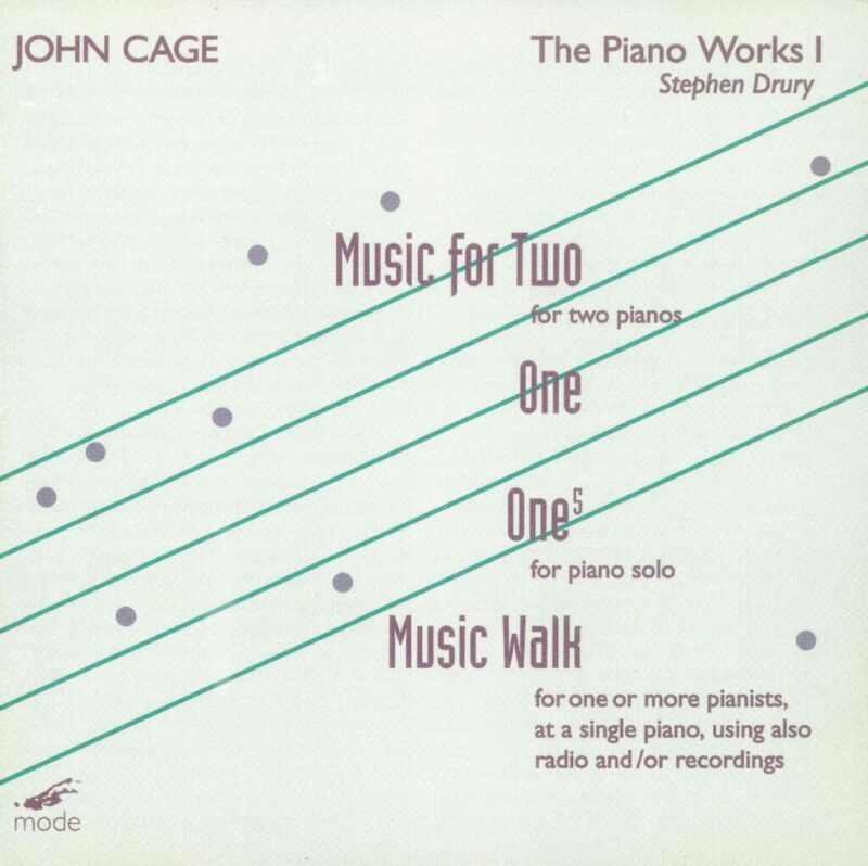 Cage Edition 13: The Piano Works 1