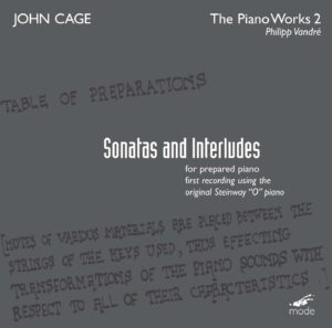 Cage Edition 14-The Piano Works 2