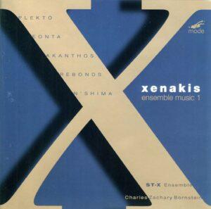 Xenakis Edition 1-Ensemble Music 1