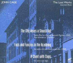 Cage Edition 15-The Lost Works