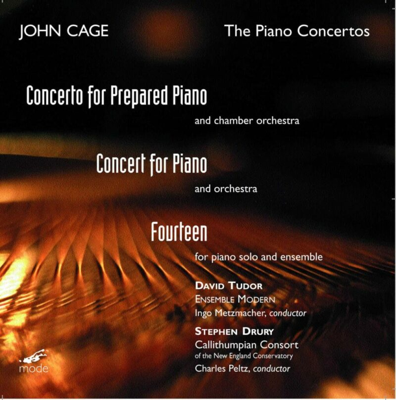 Cage Edition 16-The Piano Concertos