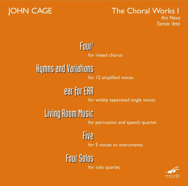 Cage Edition 18-The Choral Works 1