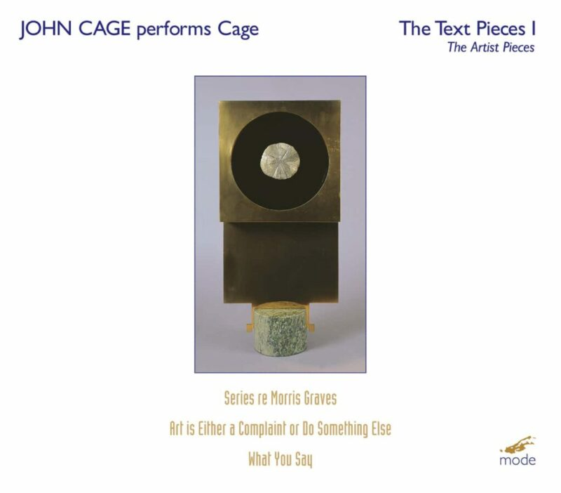 John Cage performs Cage – The Text Pieces 1: The Artists Pieces