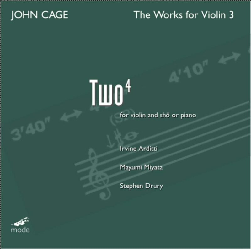 Cage Edition 23- The Works for Violin 3