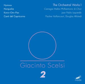 Scelsi Edition 2 – The Orchestral Works 1