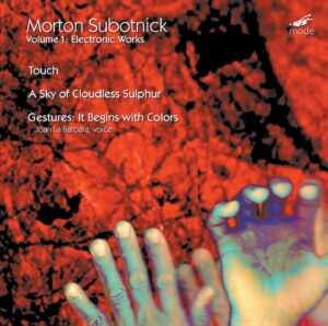 Subotnick Volume 1 – Electronic Works 1 – CD