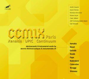 CCMIX Paris: New Electroacoustic Works