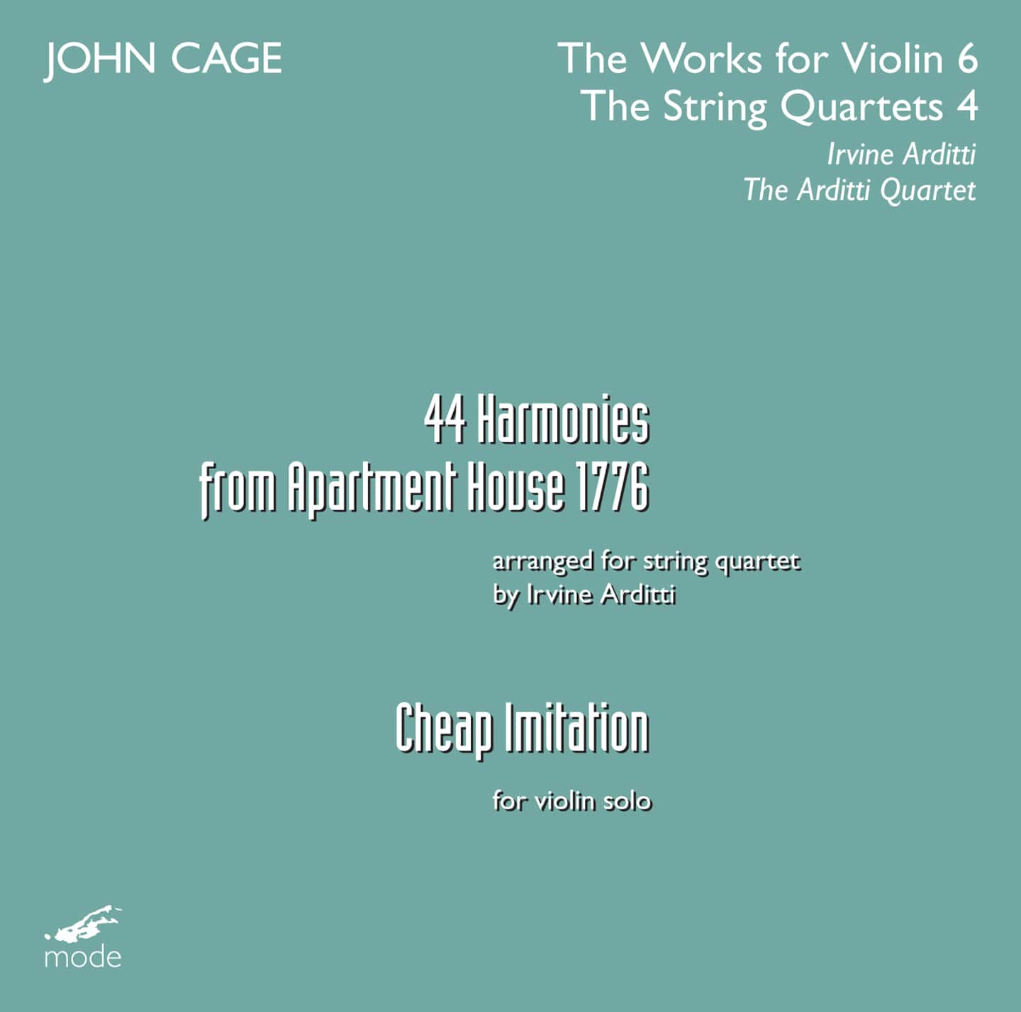 Cage Edition 33 – The Works for Violin 6