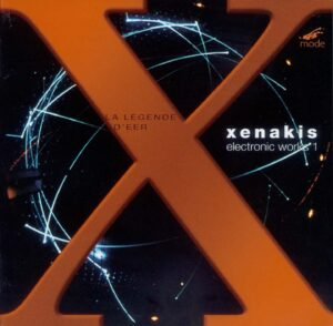 Xenakis Edition 5–Electronic Works 1 – CD