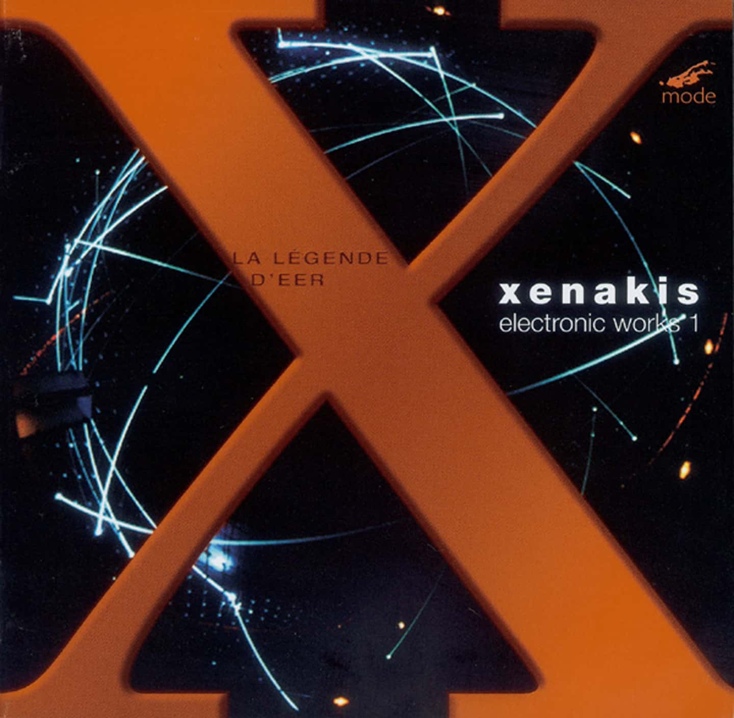 Xenakis Edition 5 – Electronic Works 1 – CD