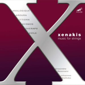 Xenakis Edition 6 – Works For Strings