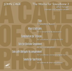 Cage Edition 35 – A Cage Of Saxophones 2