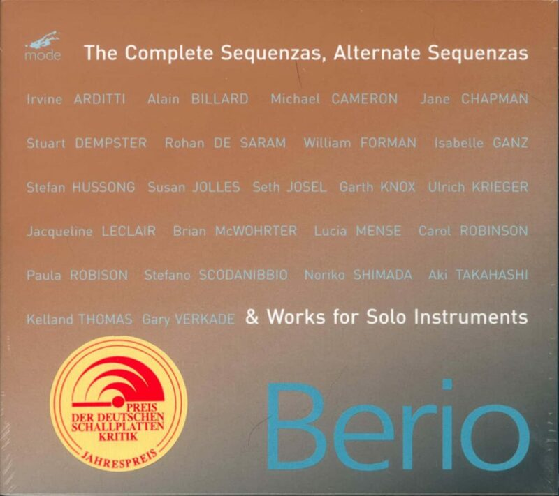 The Complete Sequenzas (And Works For Solo Instruments)