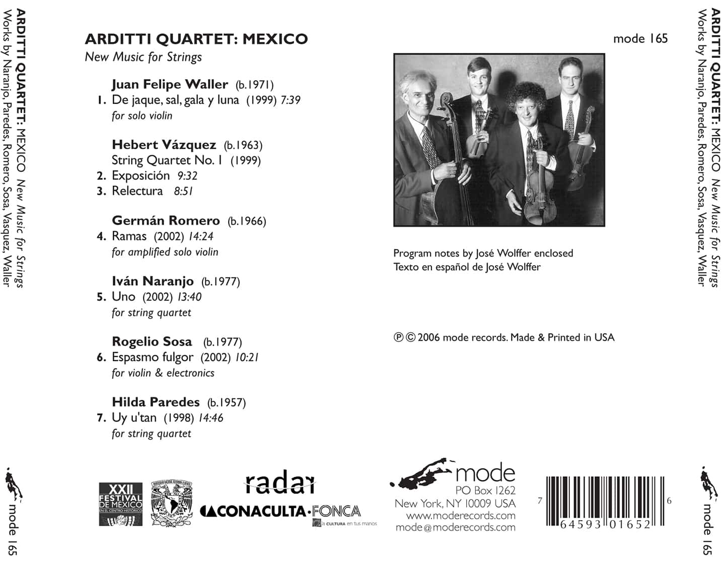 Mexico – New Music For Strings
