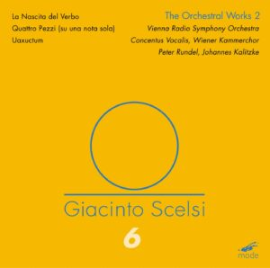 Scelsi Edition 6 – The Orchestral Works 2 – CD