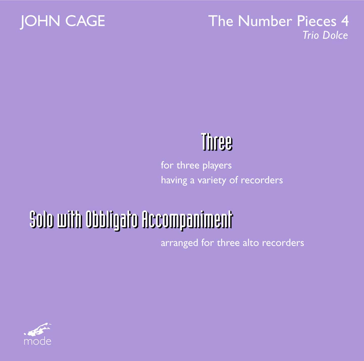 John Cage Edition 38: The Number Pieces 4