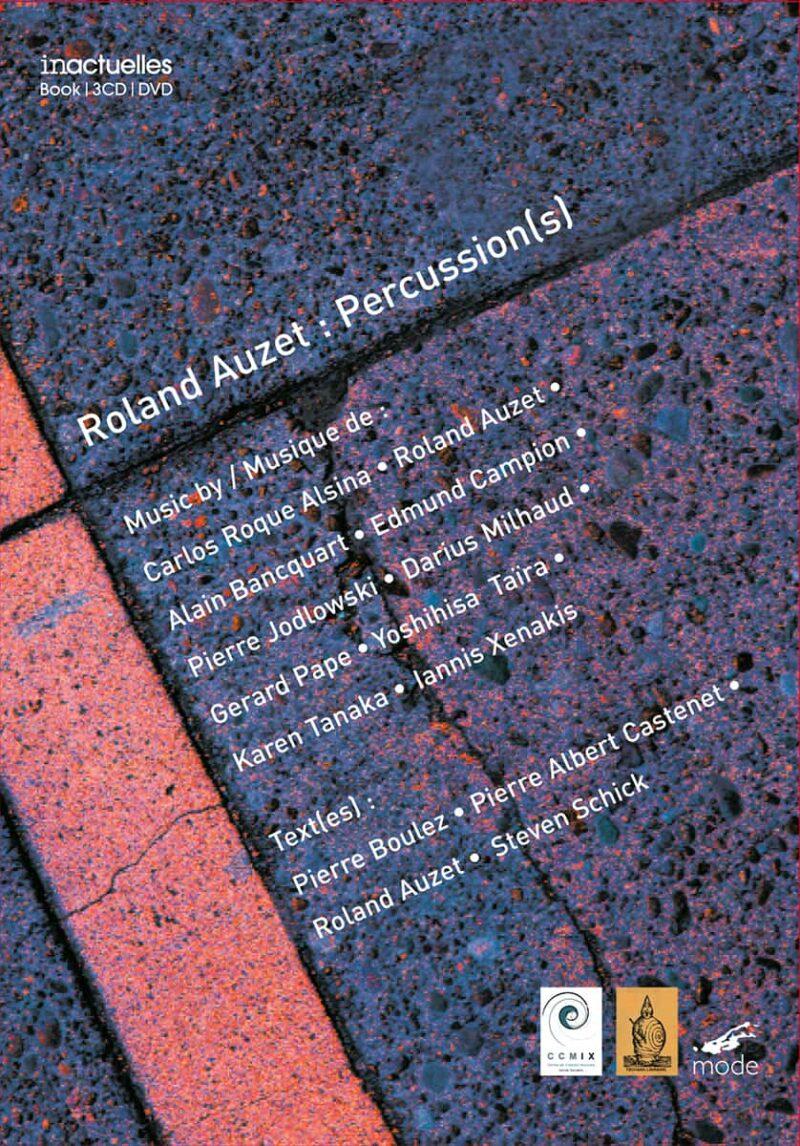 Roland Auzet: Percussions(S)