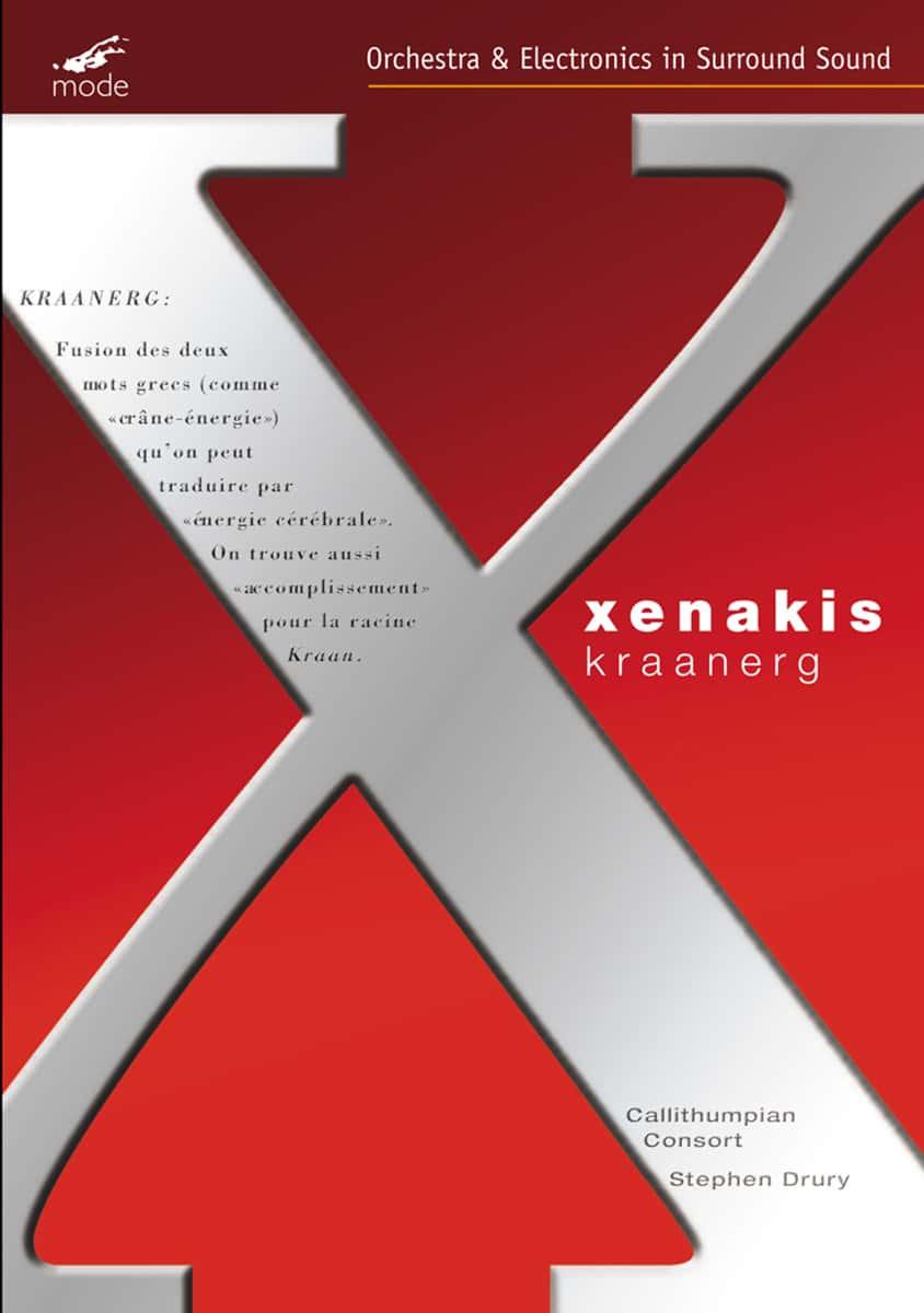 Xenakis Edition 8-Kraanerg – DVD