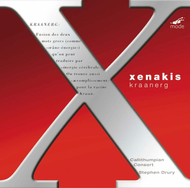Xenakis Edition 8-Kraanerg – CD
