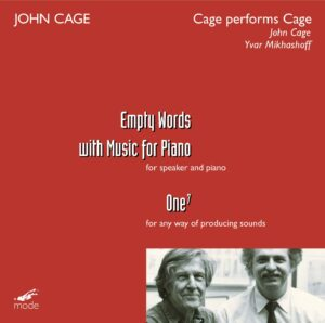 Cage Edition 41-Cage Performs Cage