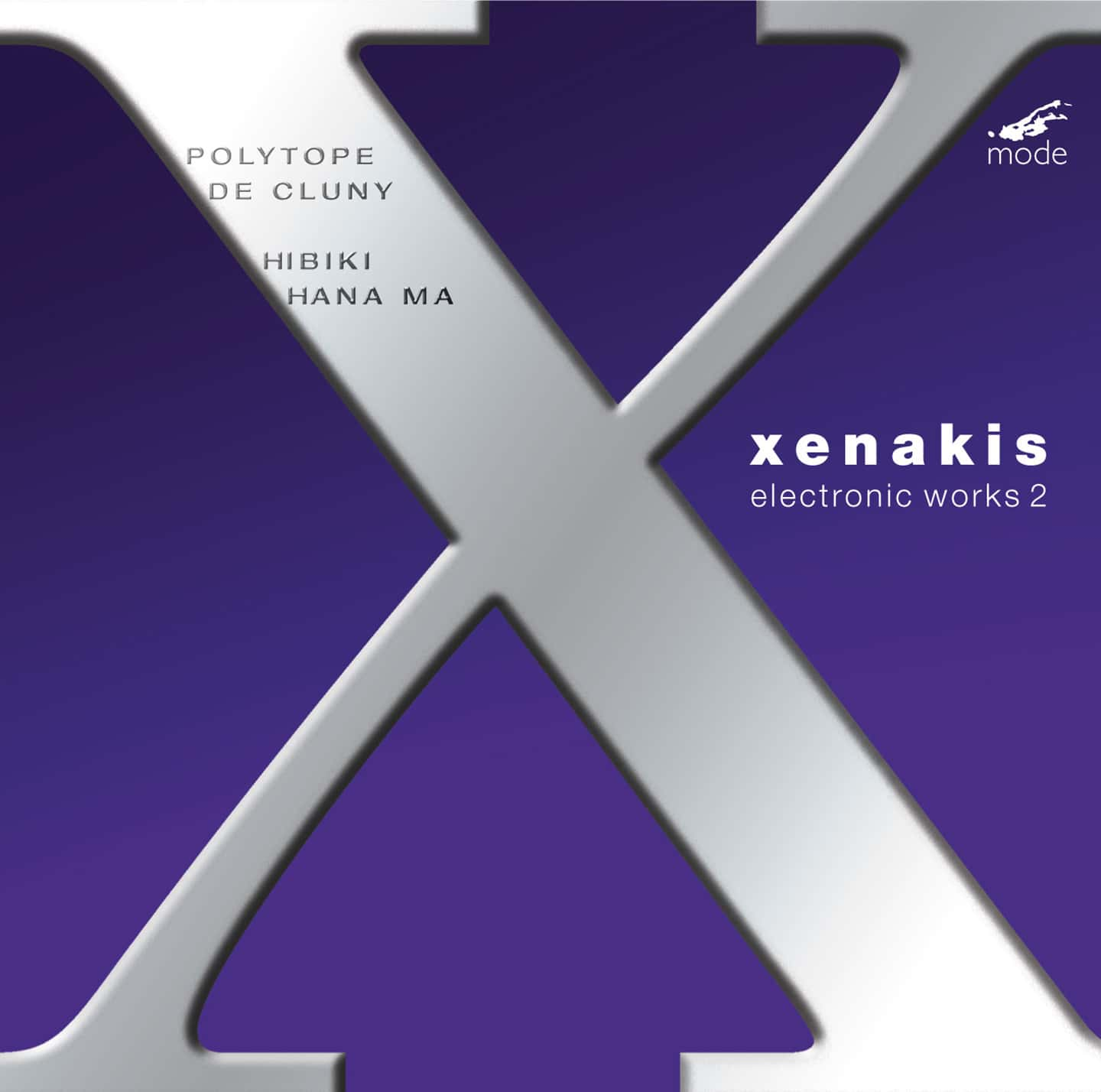 Xenakis Edition 9 – Electronic Works 2 – CD