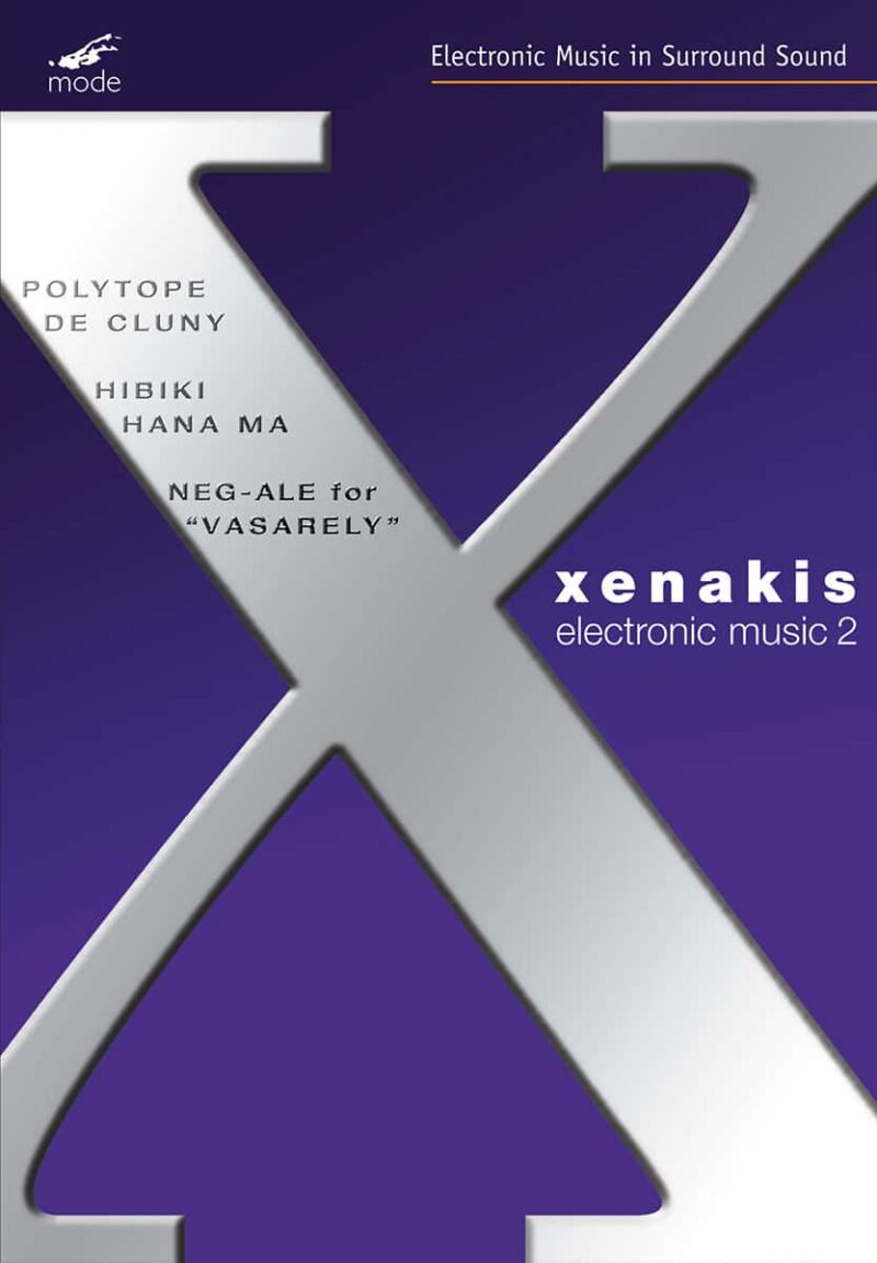 Xenakis Edition 9 – Electronic Works 2 – DVD