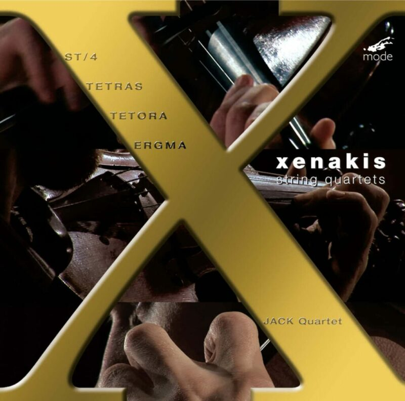 Xenakis Edition 10: Complete String Quartets – CD
