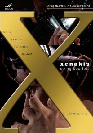 Xenakis Edition 10: Complete String Quartets – DVD