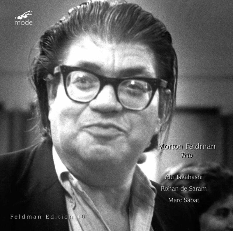 Feldman Edition 10-Trio – CD