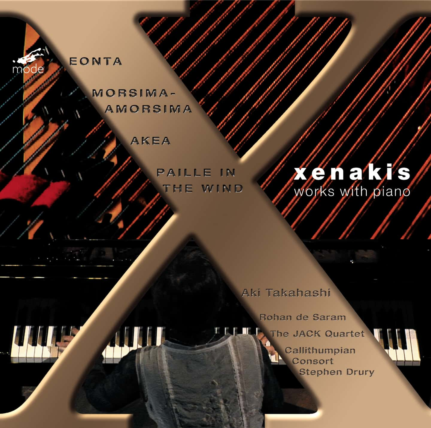 Xenakis Edition 11-Works with Piano – CD