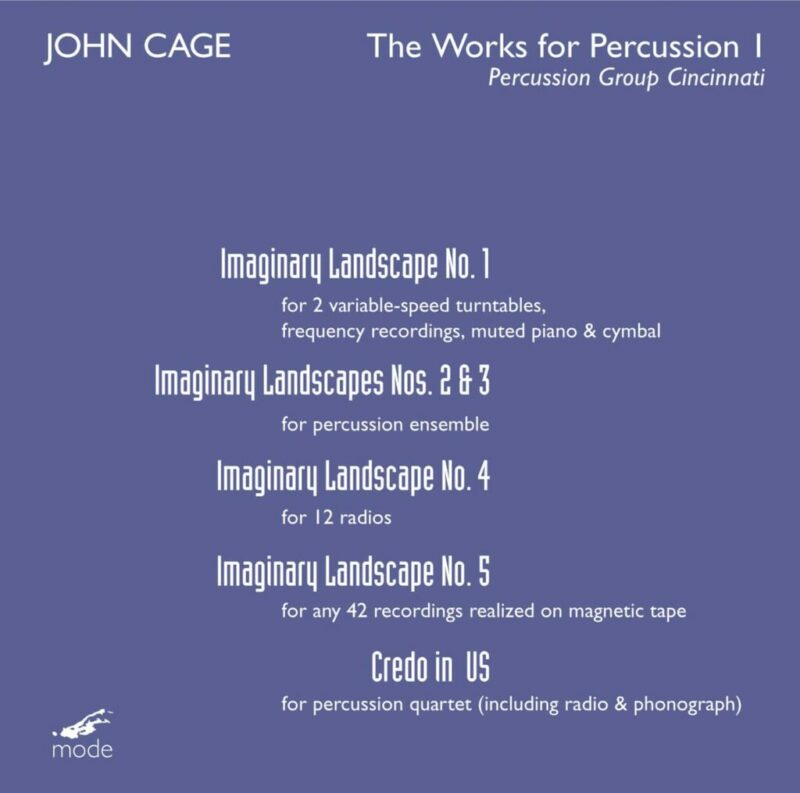Cage Edition 43 – The Works for Percussion I – CD