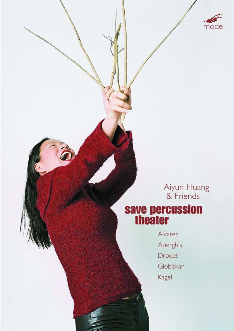 "Aiyun Huang's ""Save Percussion Theatre"""