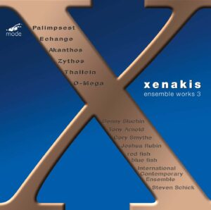 Xenakis Edition 13 – Ensemble Music 3