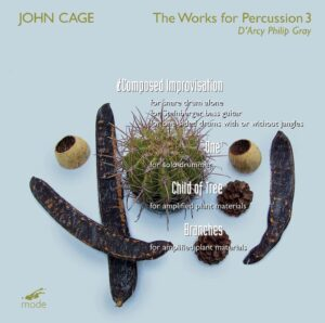 Cage Edition 50 – The Percussion Works 3