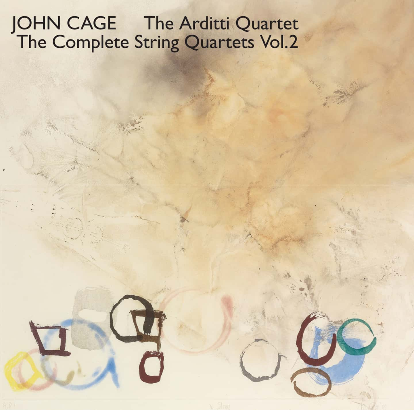 Cage Edition 5-String Quartets, Volume 2