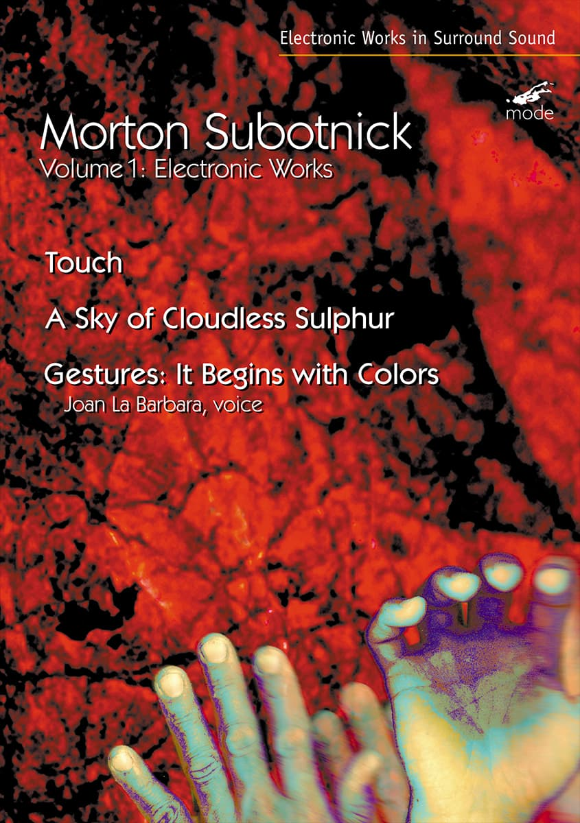 Subotnick Volume 1 – Electronic Works 1 – DVD
